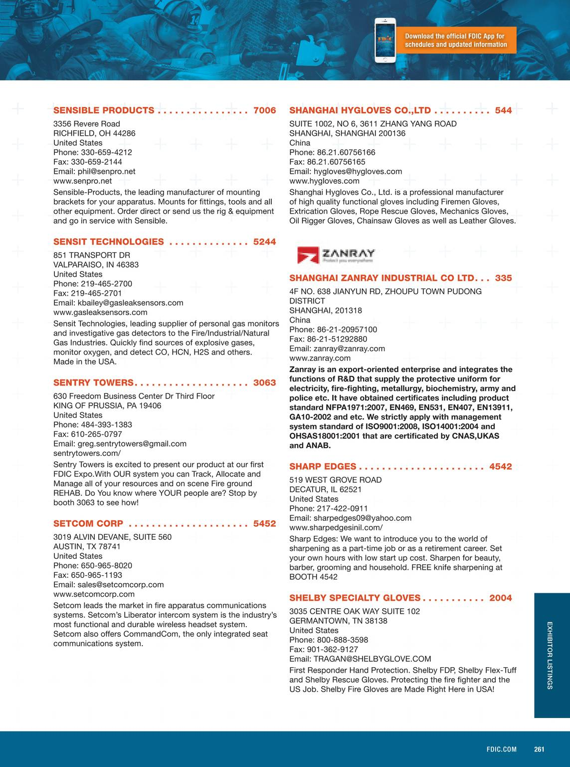 Pennwell Supplements - FDIC 2015 Event Guide - page 262