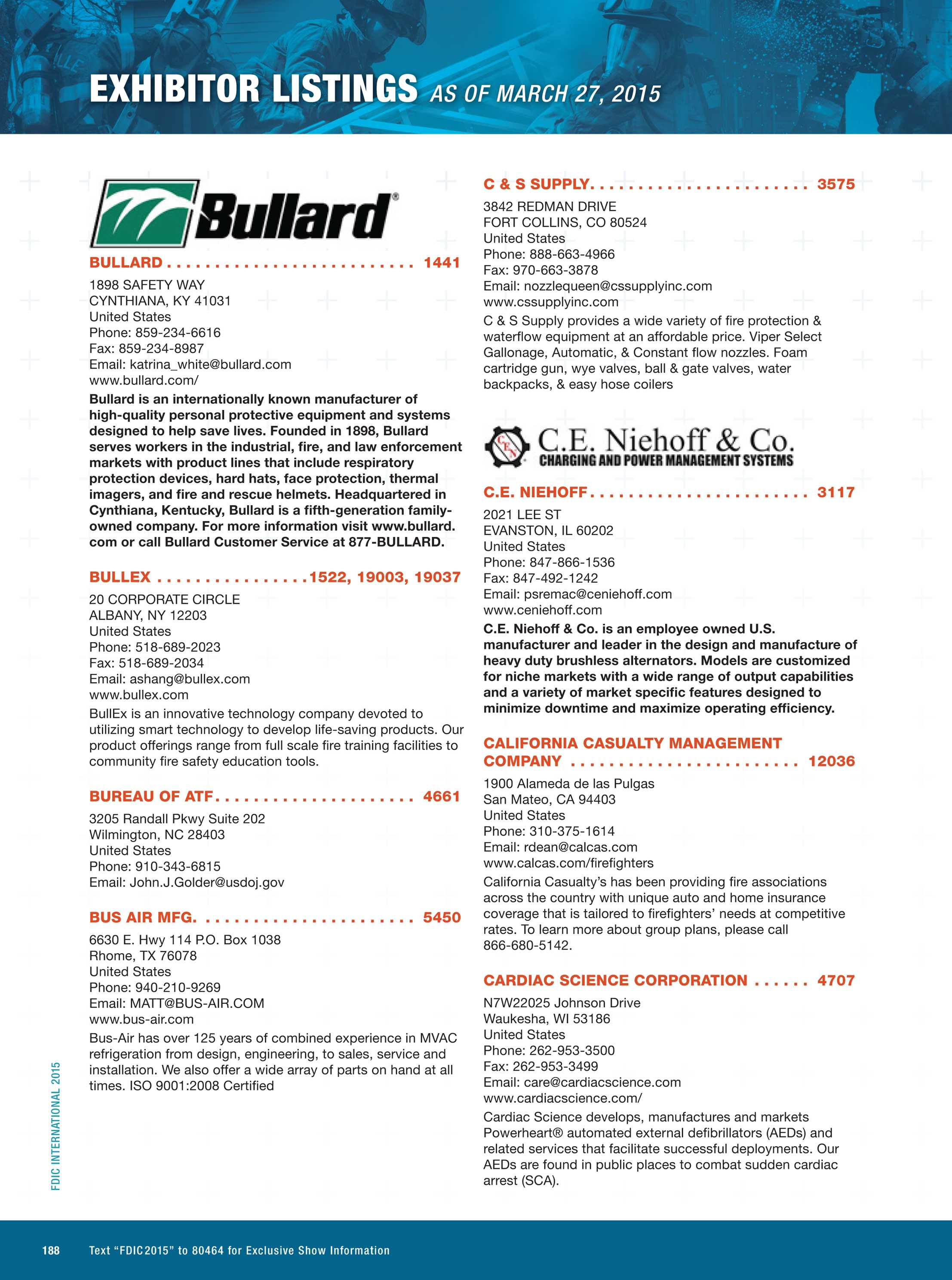 Pennwell Supplements - FDIC 2015 Event Guide - page 188