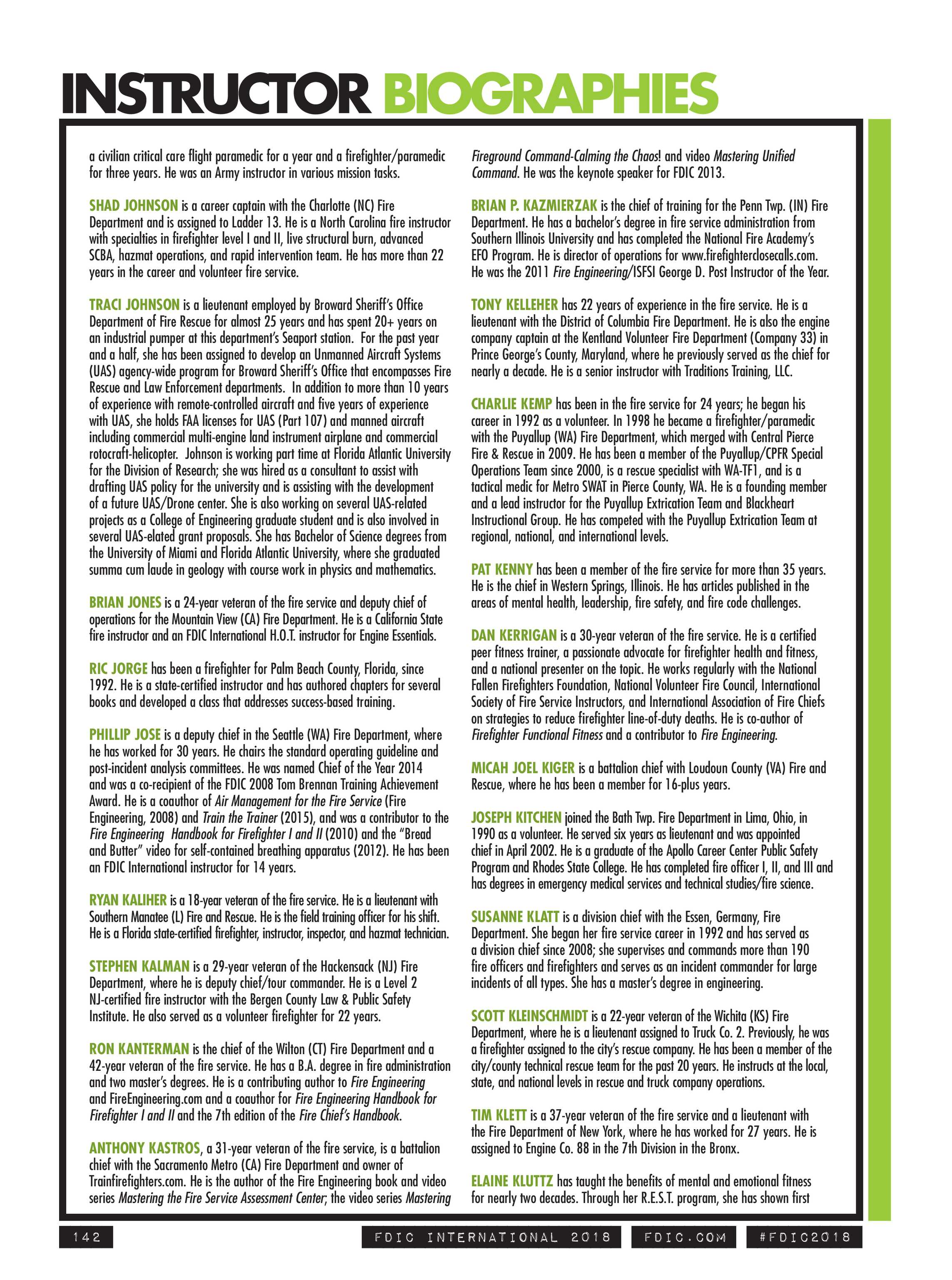 Pennwell Supplements - FDIC 2018 Show Guide - page 142