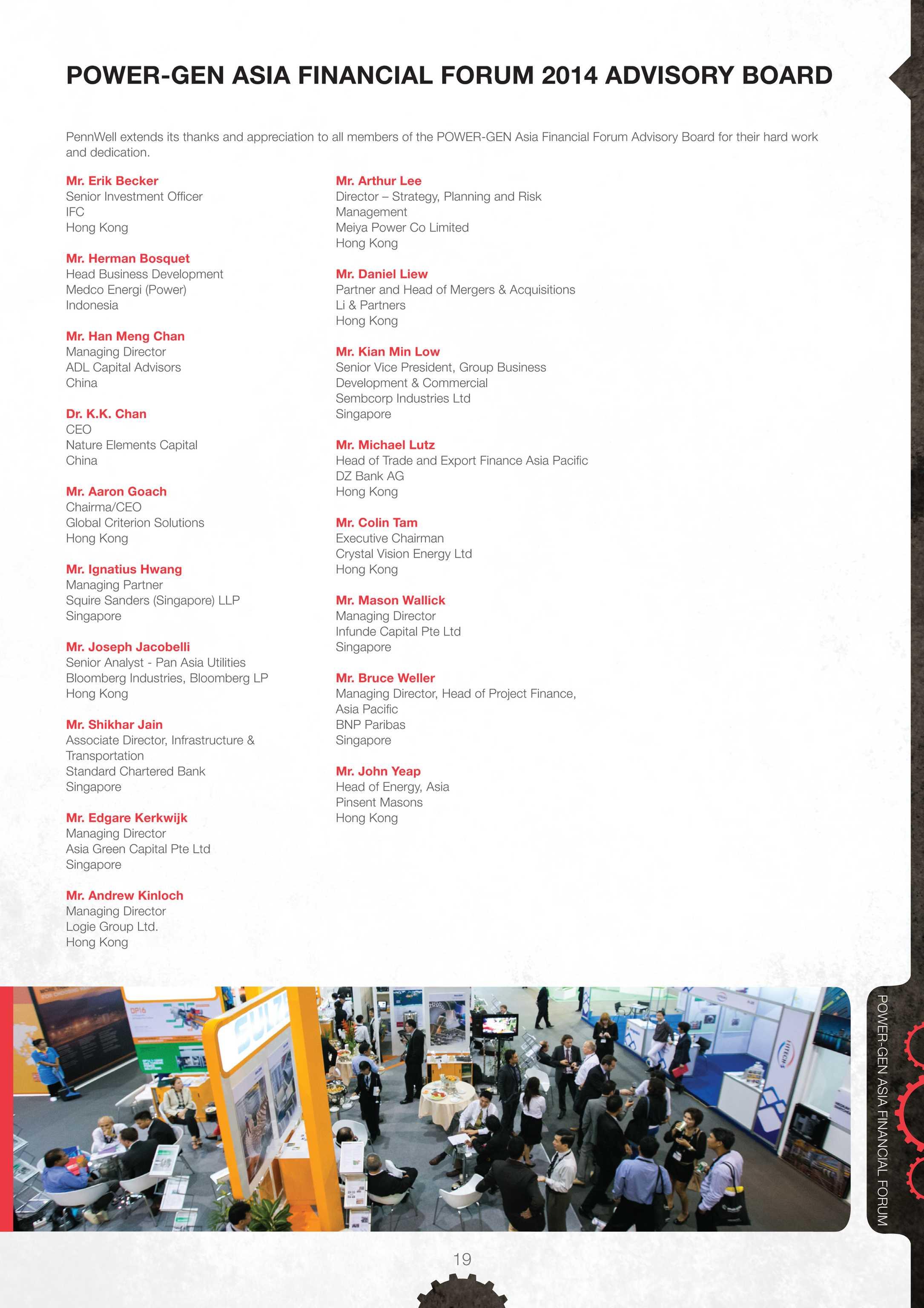 Pennwell Supplements - PowerGen Asia Financial Forum Preliminary