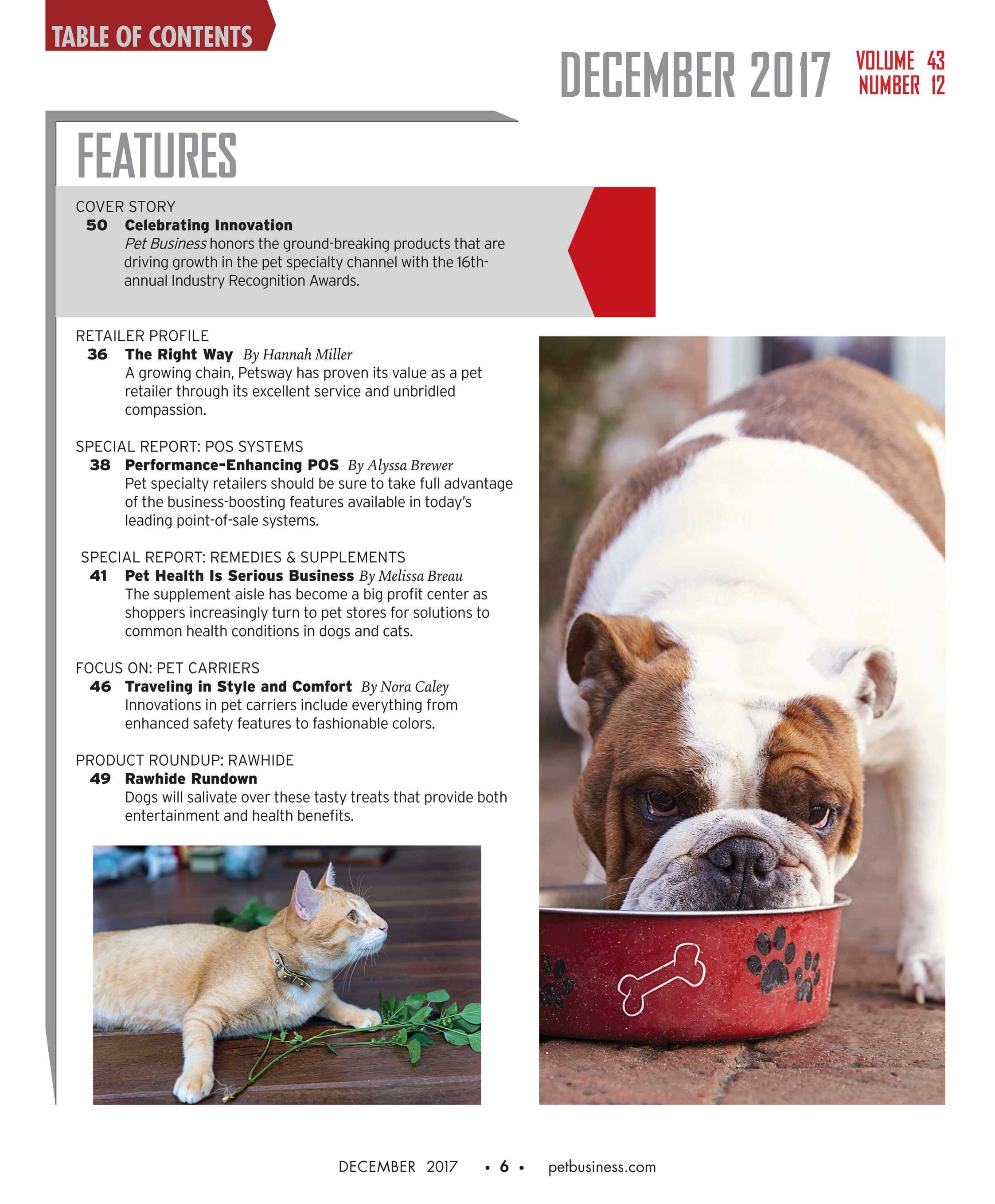 Pet Business - December 2017 - page 6