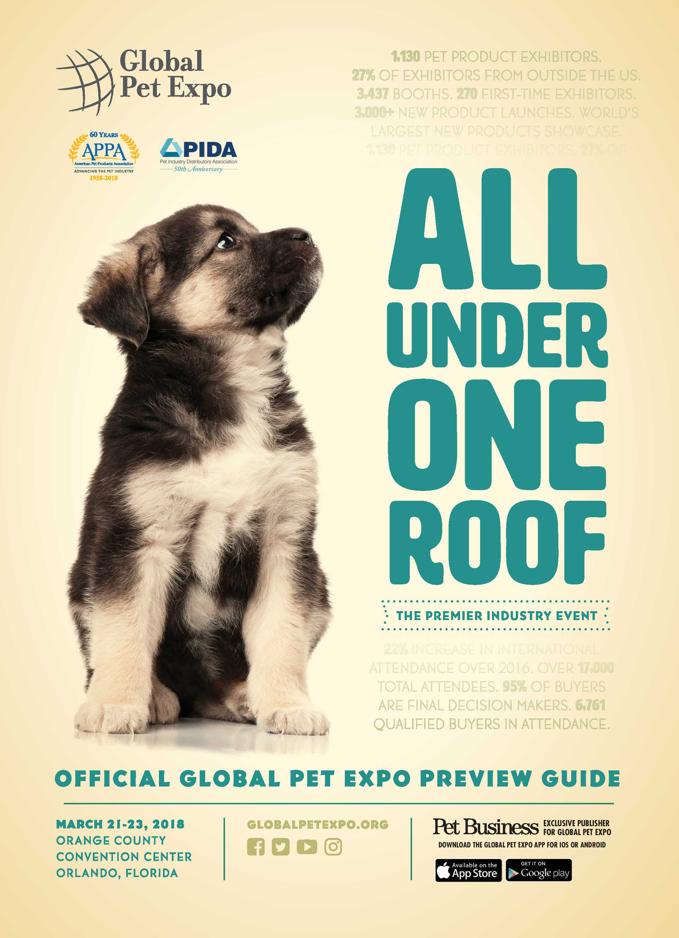 Pet Business - Global Pet Expo Preview Guide 2018 - page Cover