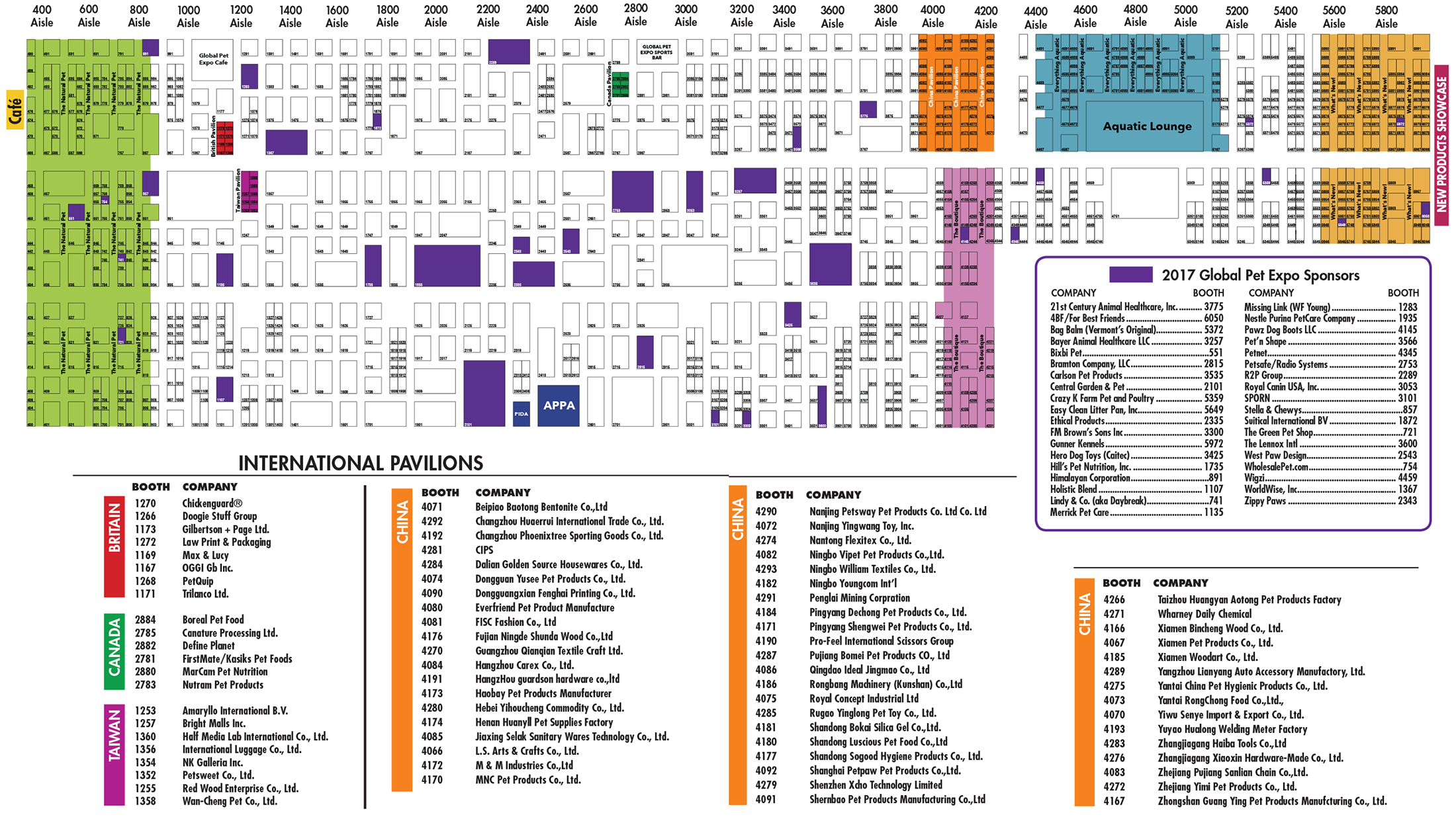 27c8b403f480 Pet Business - Global Pet Expo Show Directory 2017 - Exhibitor Floor Plan