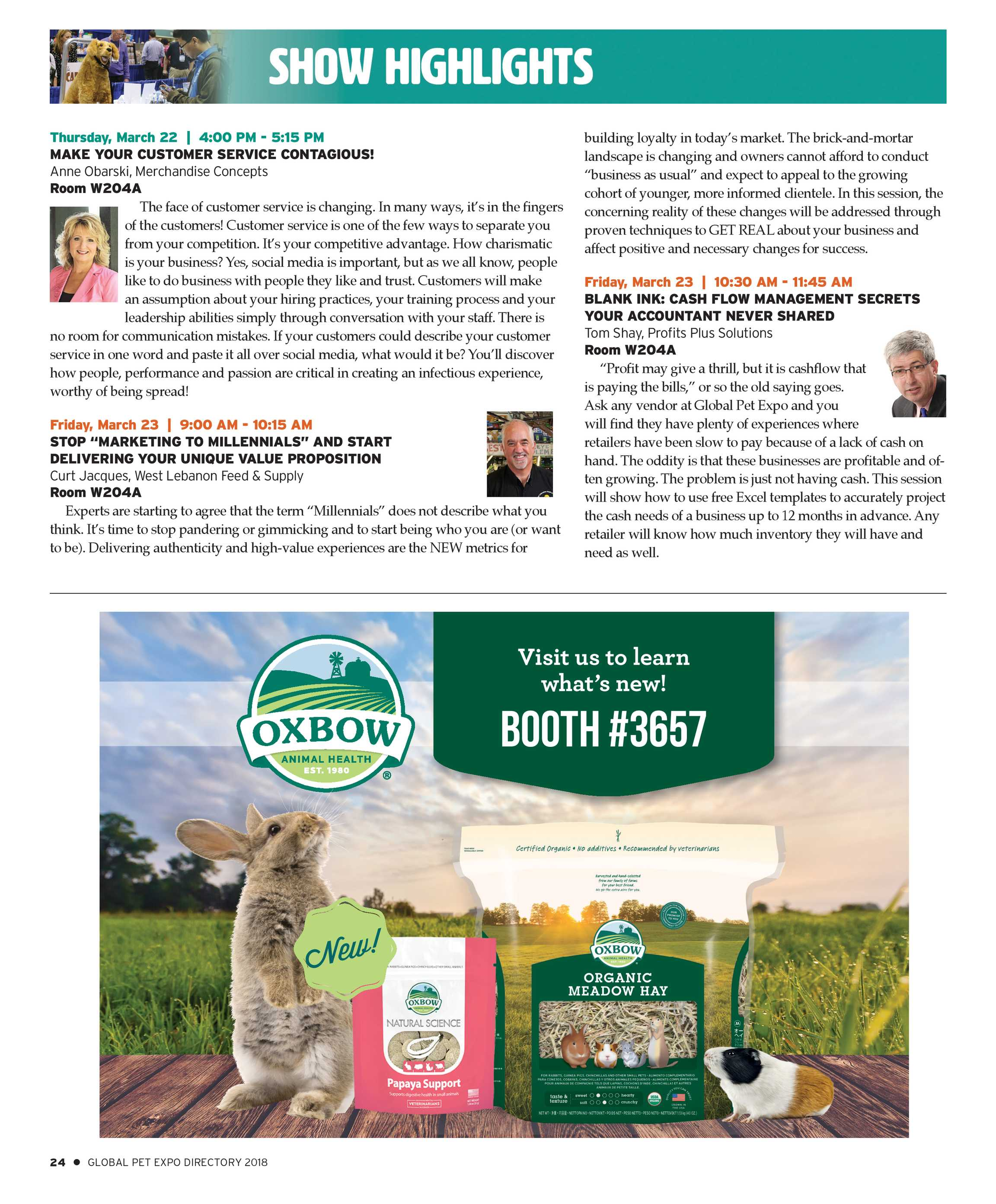 Pet Business - Global Pet Expo Show Directory 2018 - page 24