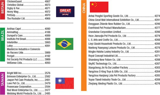 Pet Business - Global Pet Expo Show Directory 2019 - Exhibitors