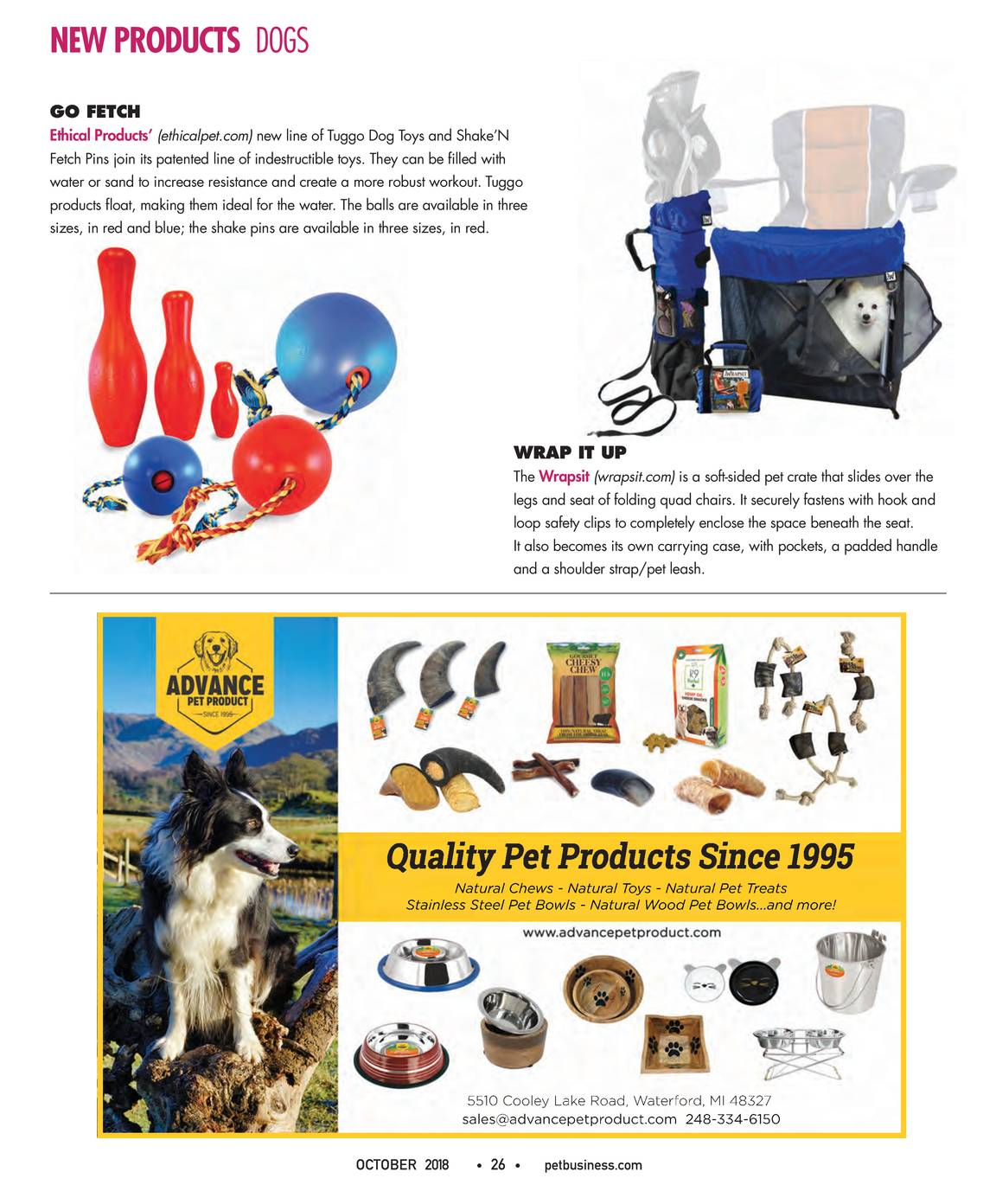 Pet Business - October 2018 - page 27