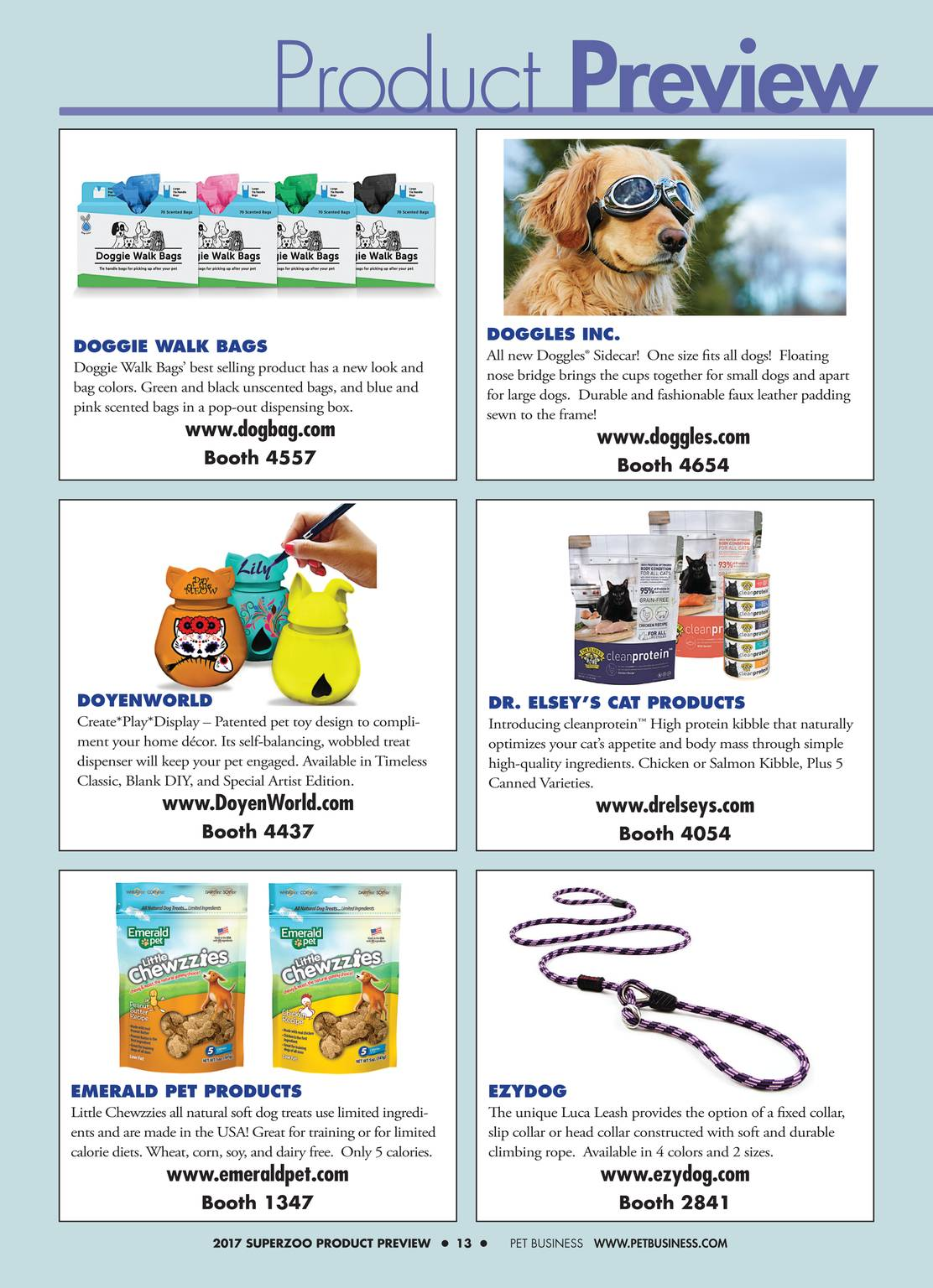 001d85e728 Pet Business - SuperZoo Show Preview 2017 - page 13