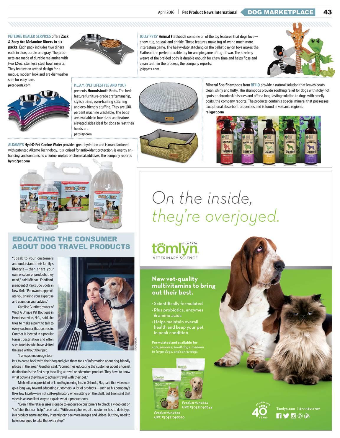 Pet Product News - April 2016 - page 44