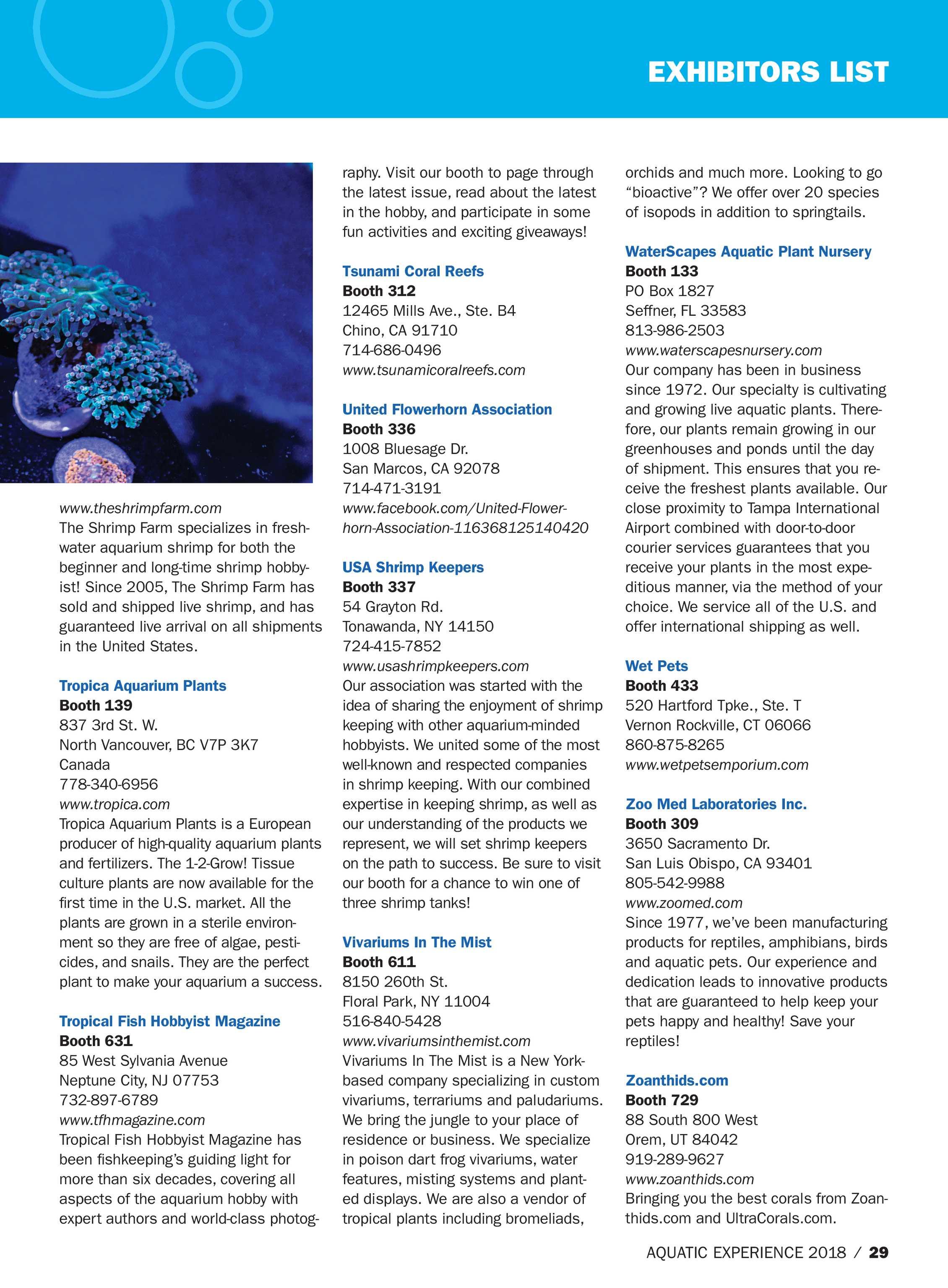 5fcdba57f9 Pet Product News - Aquatic Experience 2018 - page 29