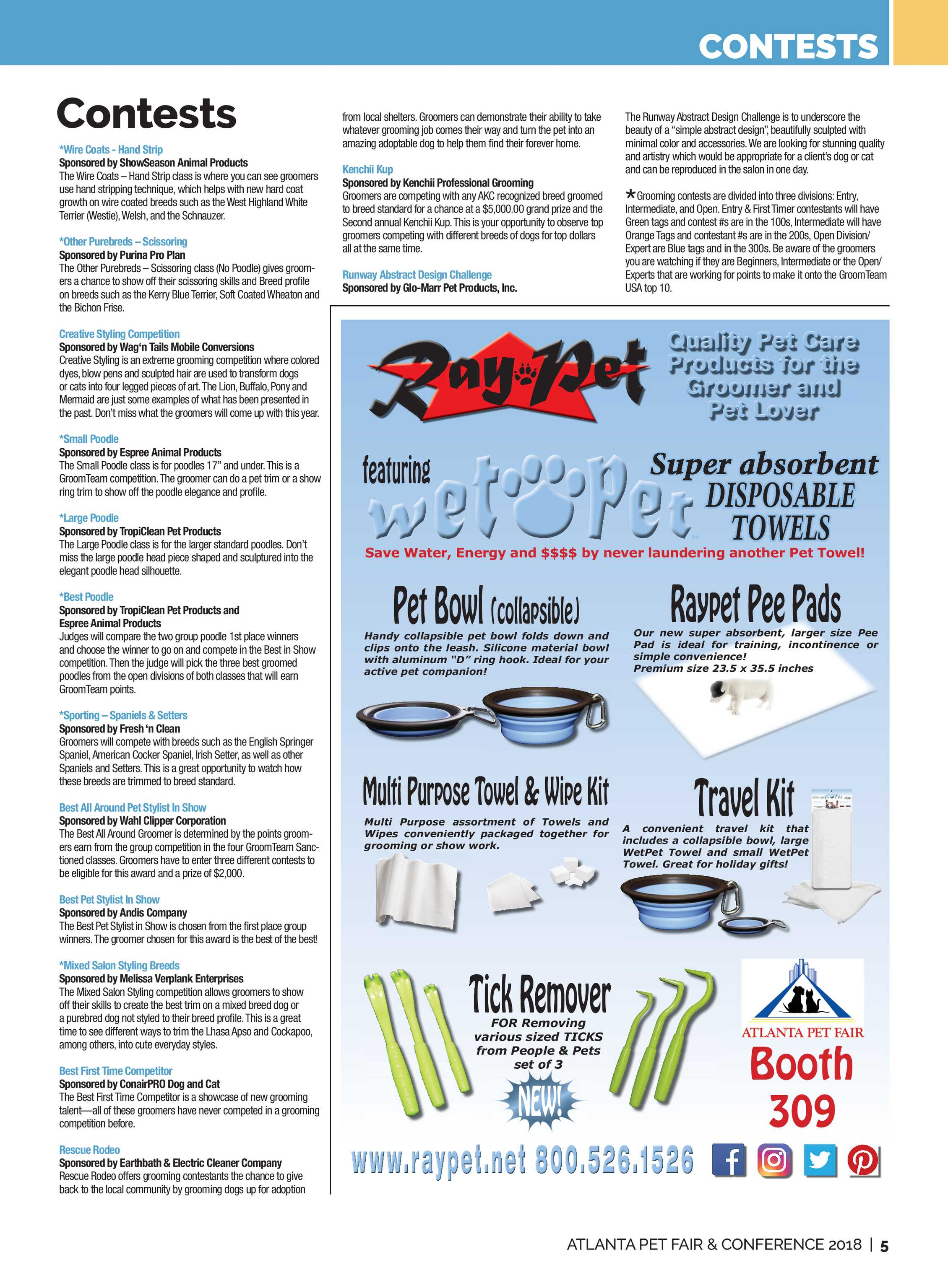 Pet Product News - Atlanta Pet Fair 2018 - page 5