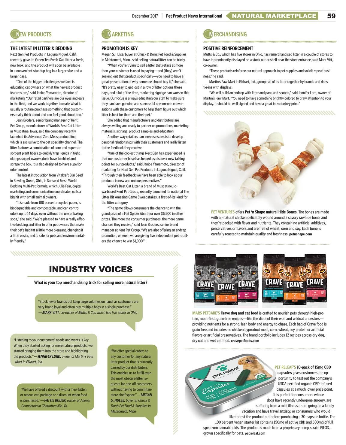 Pet Product News - April 2017 - page 60