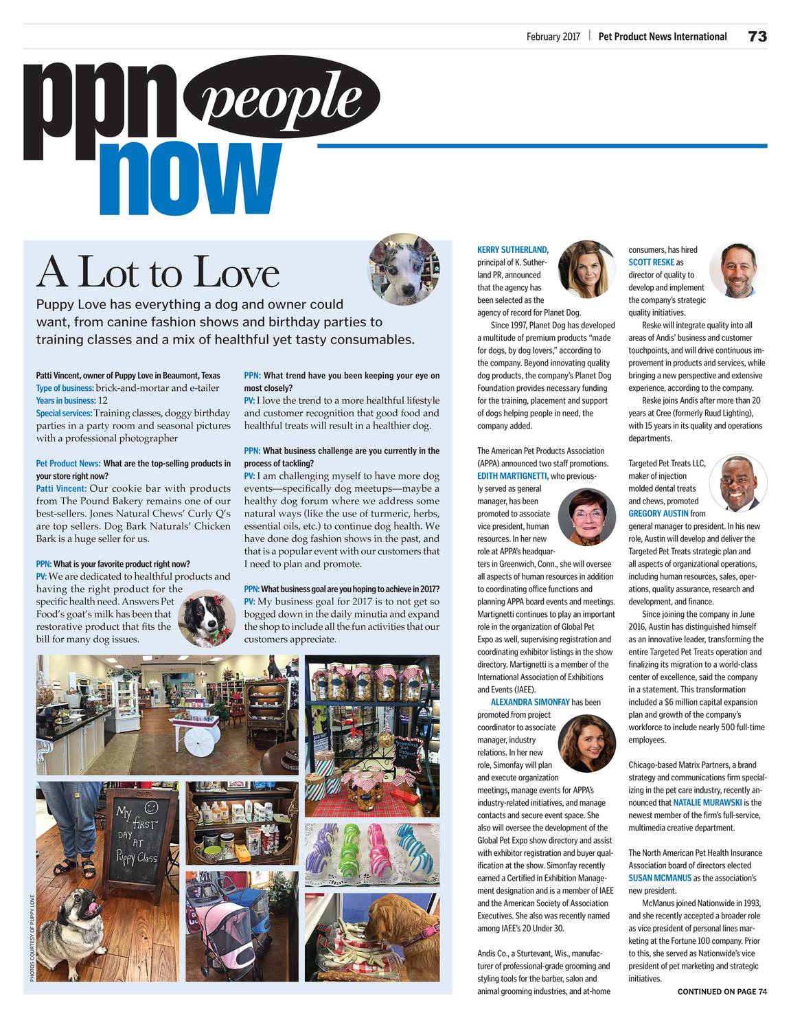 Pet Product News February 2017 Page 72
