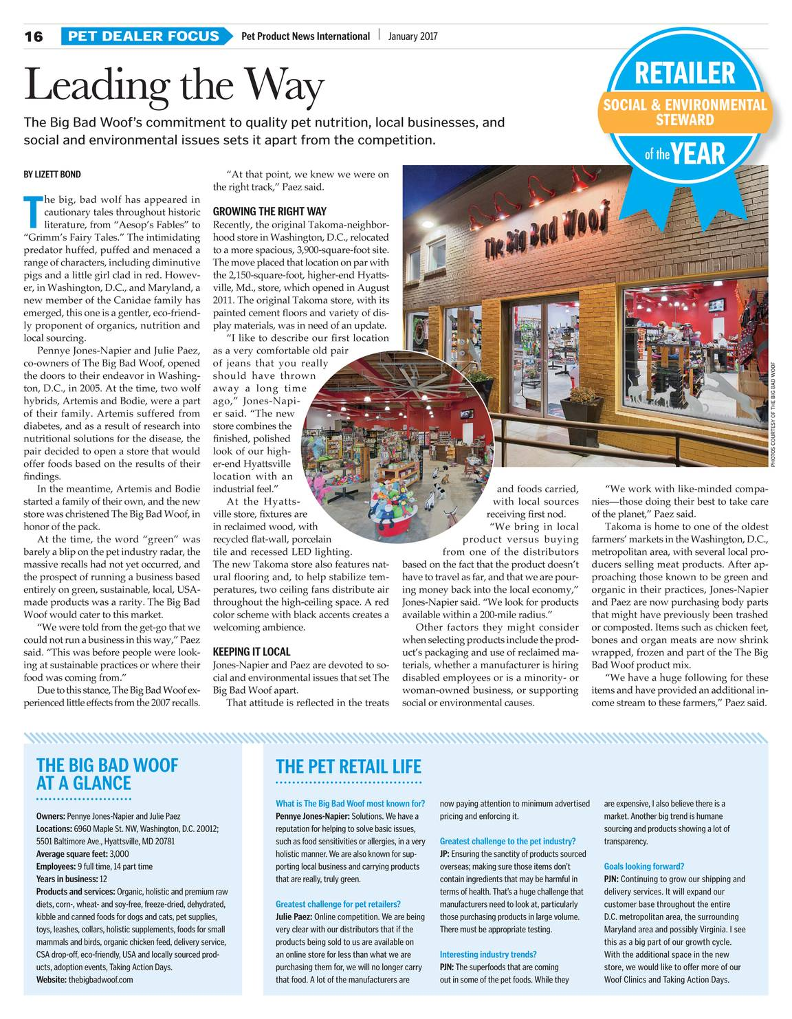 Pet Product News - January 2017 - page 16
