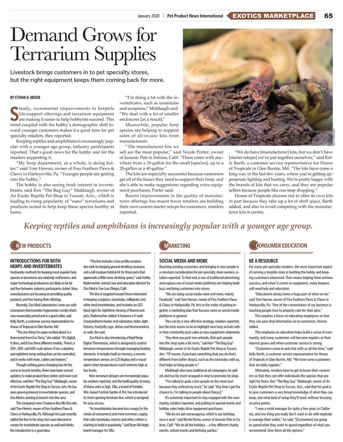 c8d21d29af Pet Product News - January 2018 - page 64