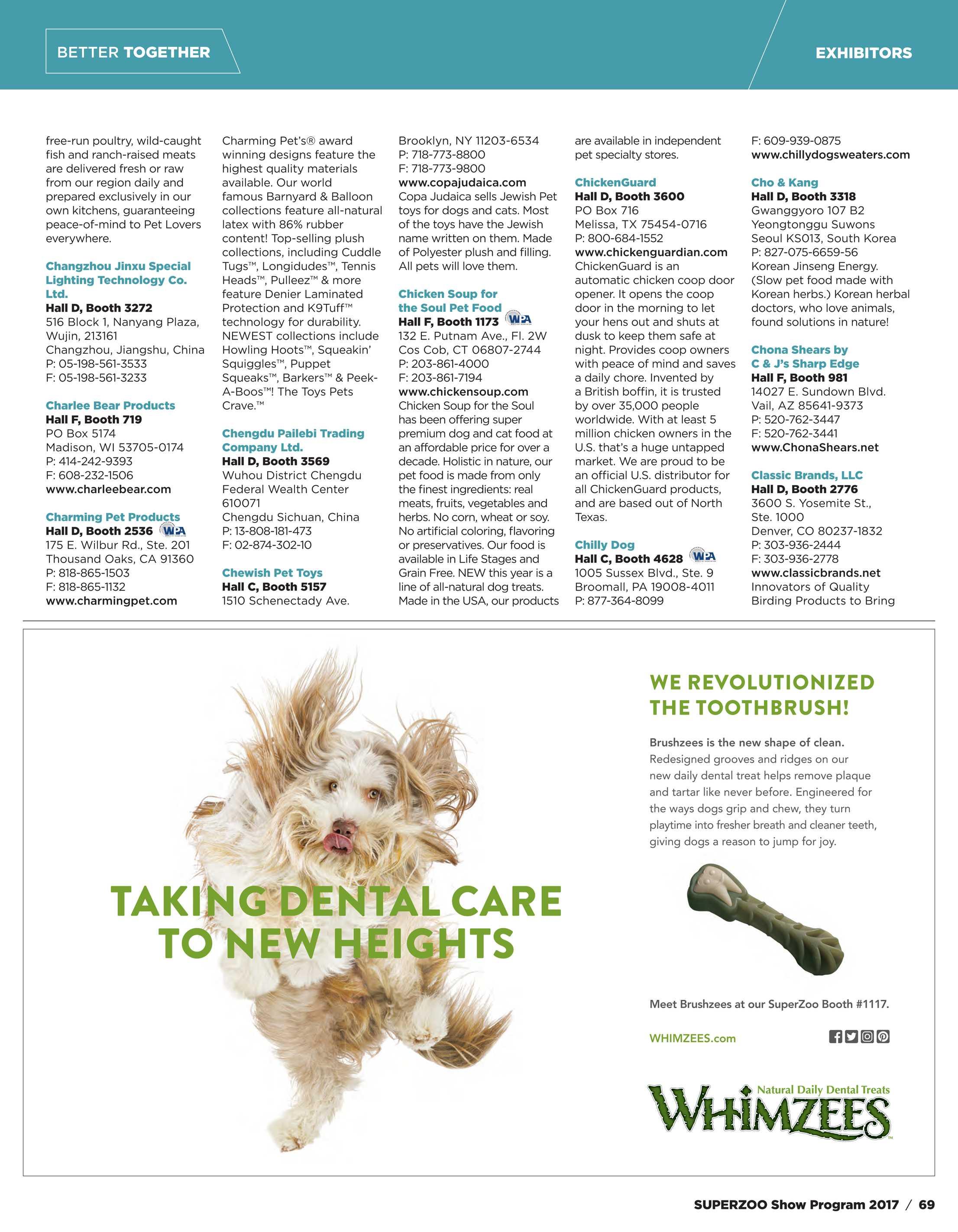 Pet Product News - SuperZoo Show Program 2017 - page 69