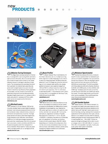Photonics Spectra - May 2013 - Page 68-69