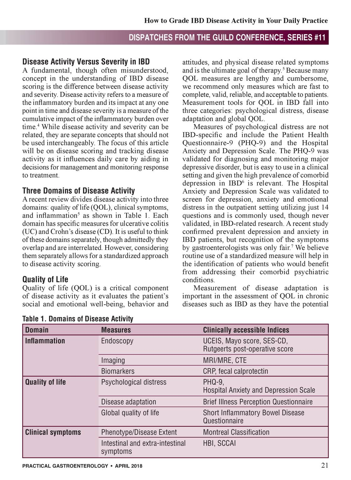Practical Gastroenterology - April 2018 - page 20