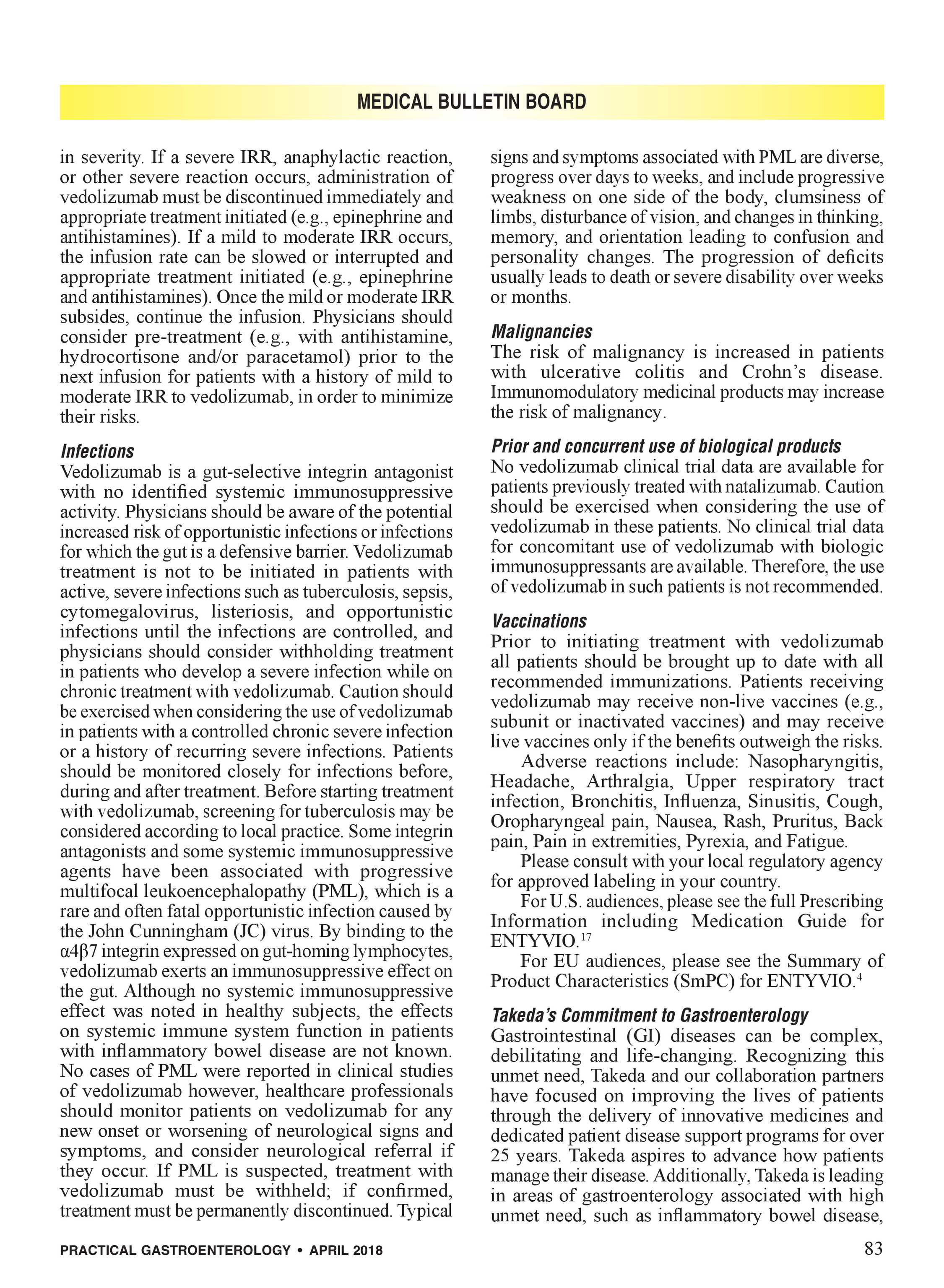 Practical Gastroenterology - April 2018 - page 83