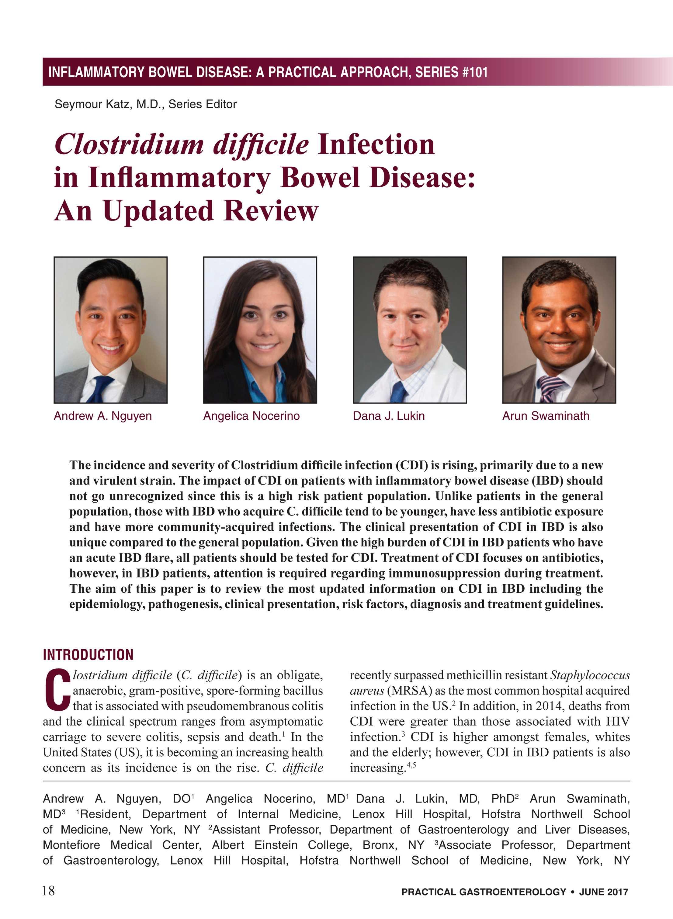 Practical Gastroenterology - June 2017 - page 18