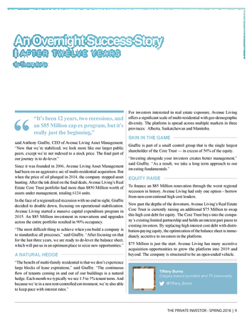 The Private Investor - Spring 2018 - Page 8-9