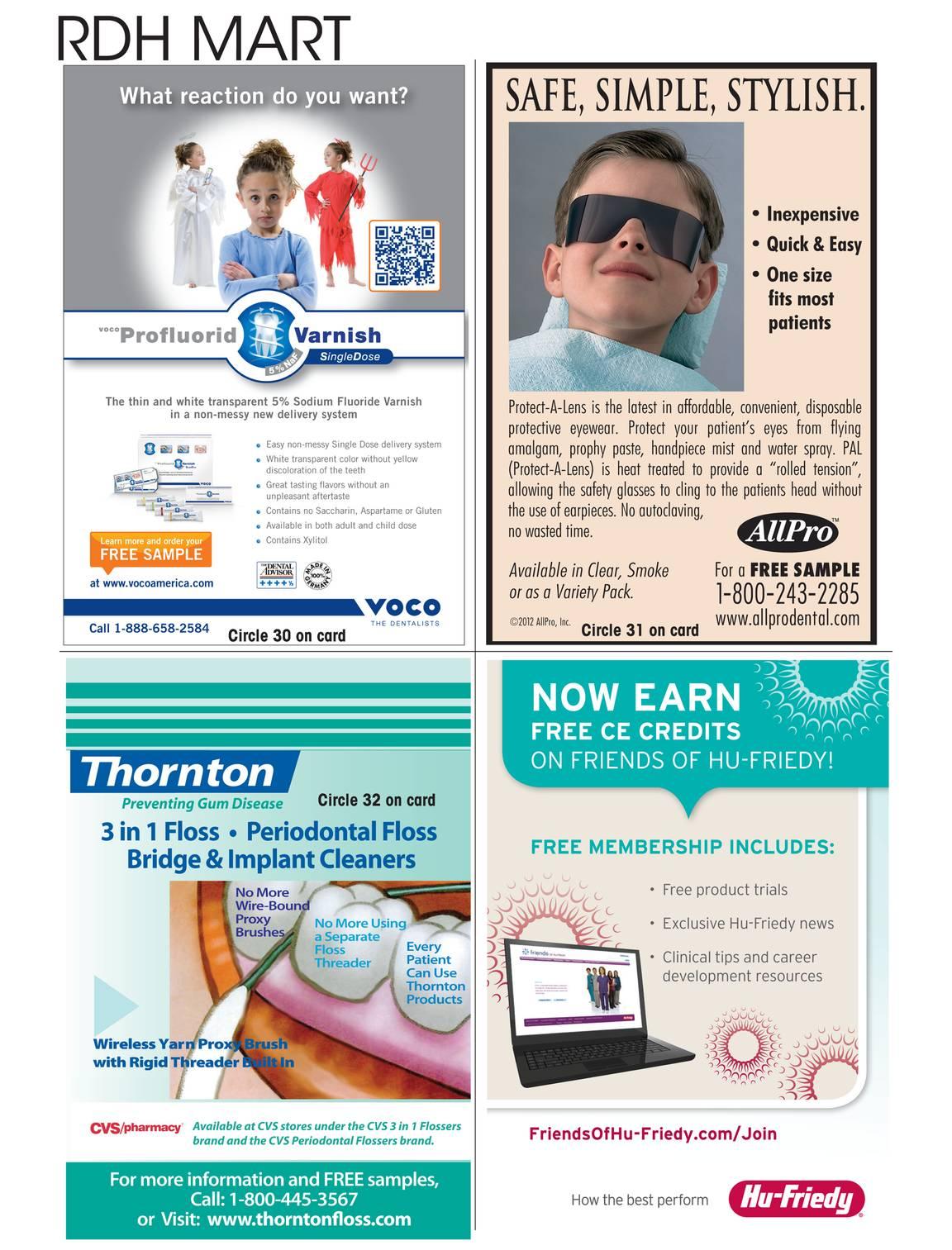 Registered Dental Hygienist - October 2014 - page 106