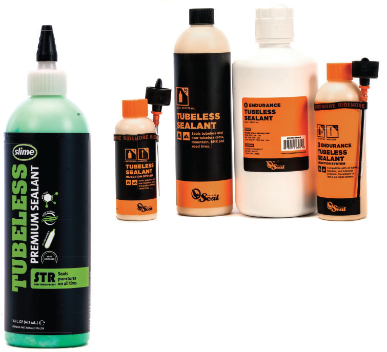 1 Liter Bottle Presta or Schrader Milkit Booster Tubeless Tire Inflation Kit