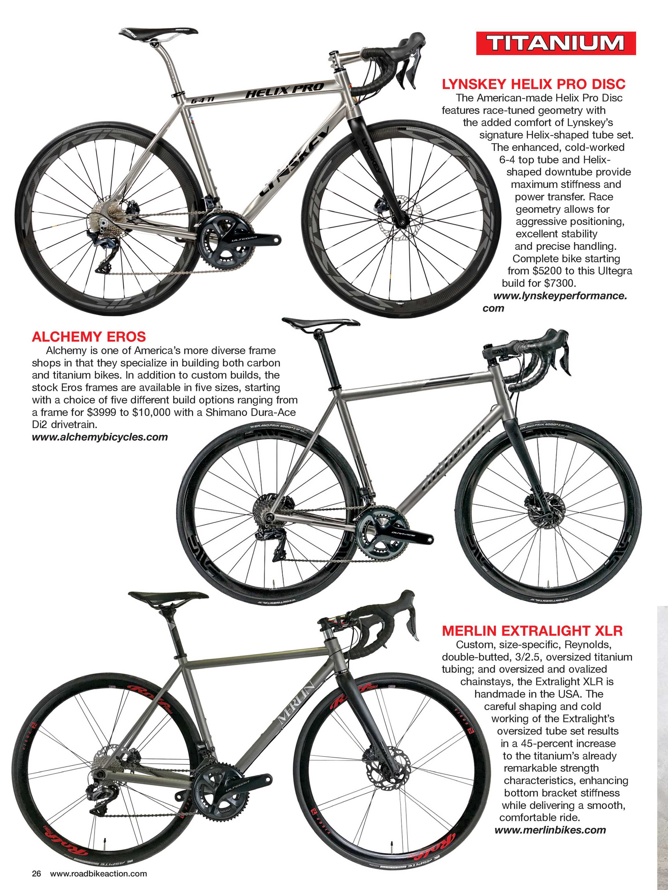 Road Bike Action Magazine - Buyer's Guide 2019 - page 25