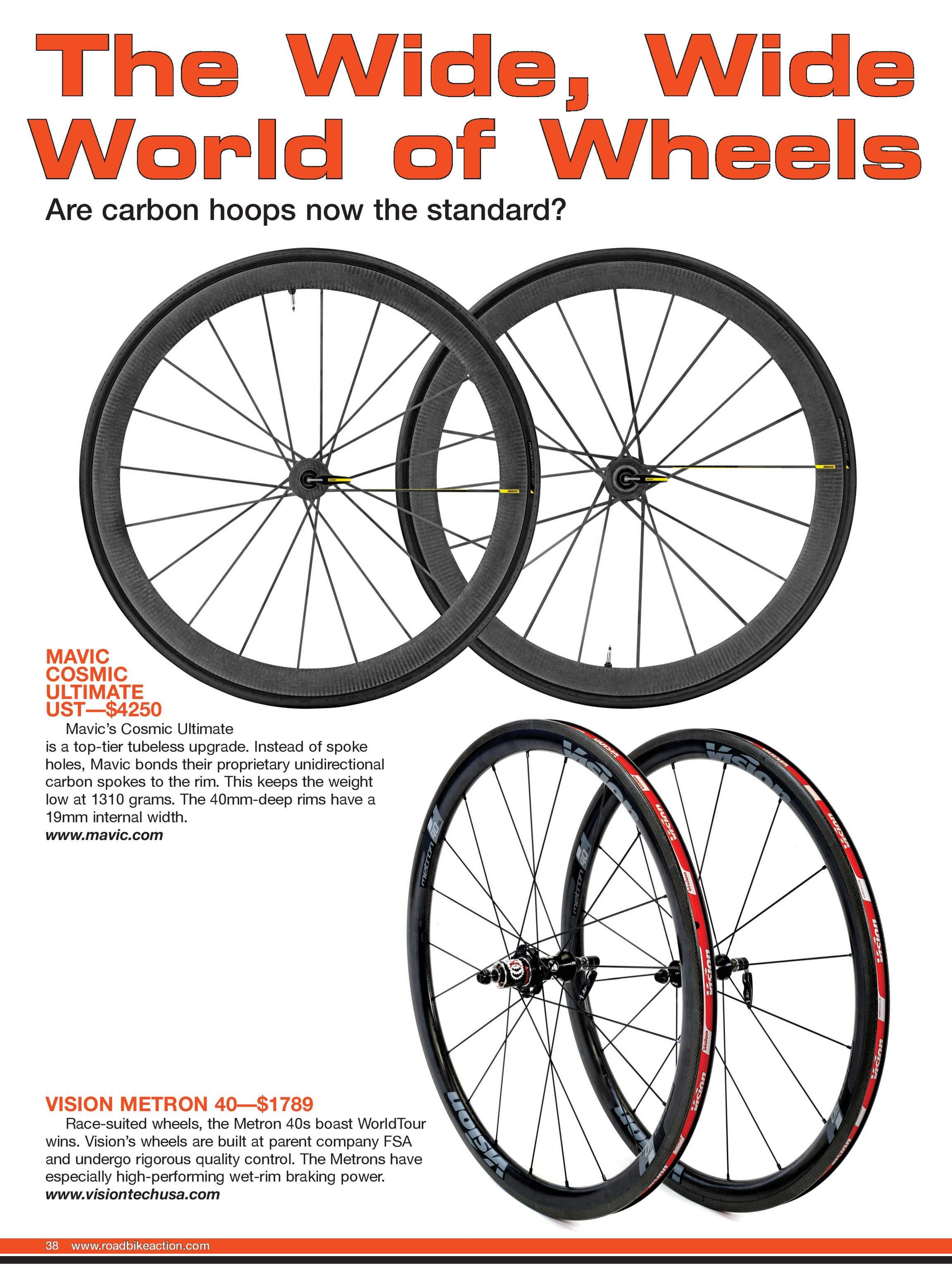 Road Bike Action Magazine - Buyer's Guide 2019 - page 38