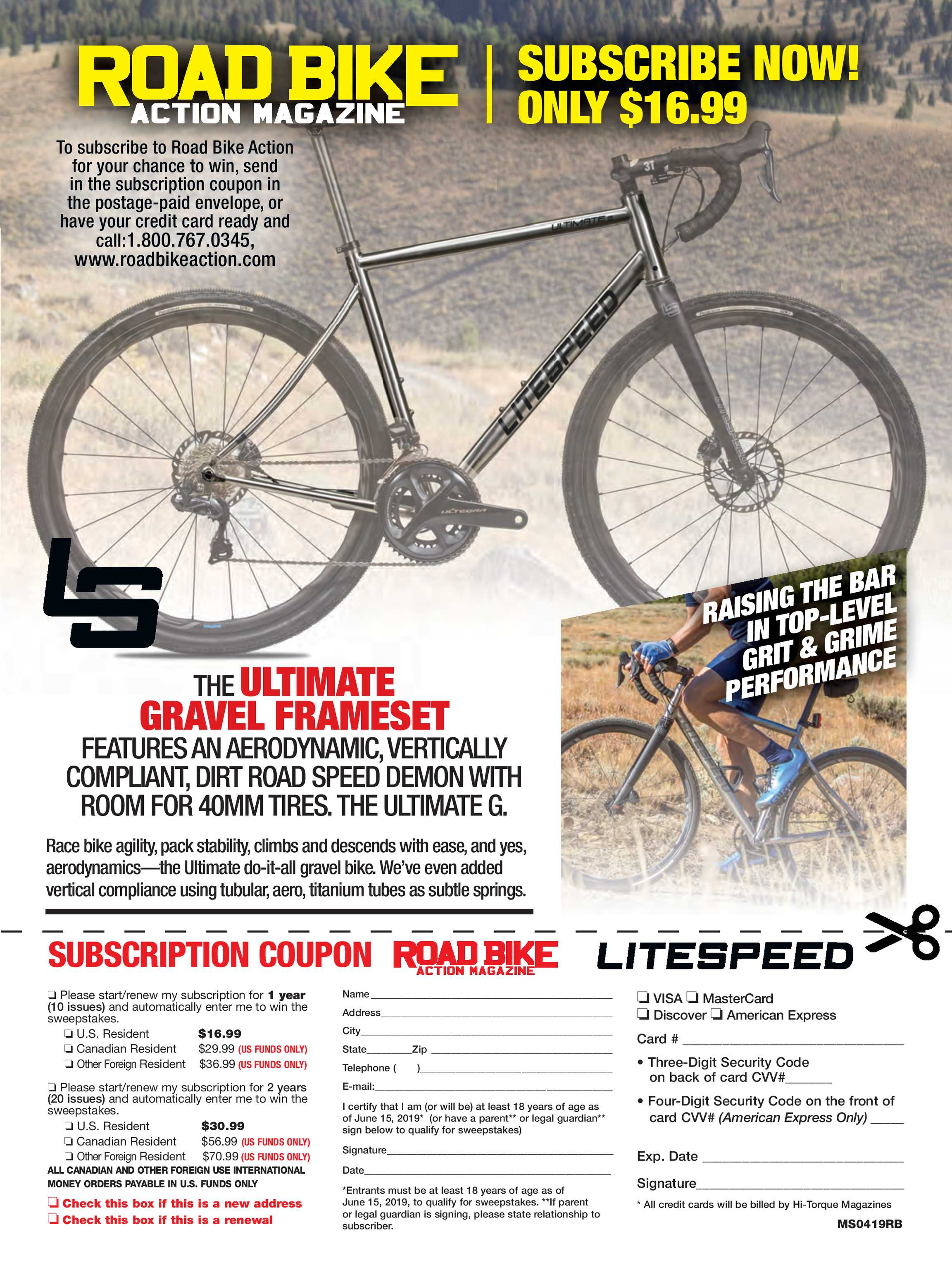 Road Bike Action Magazine - May 2019 - page 52