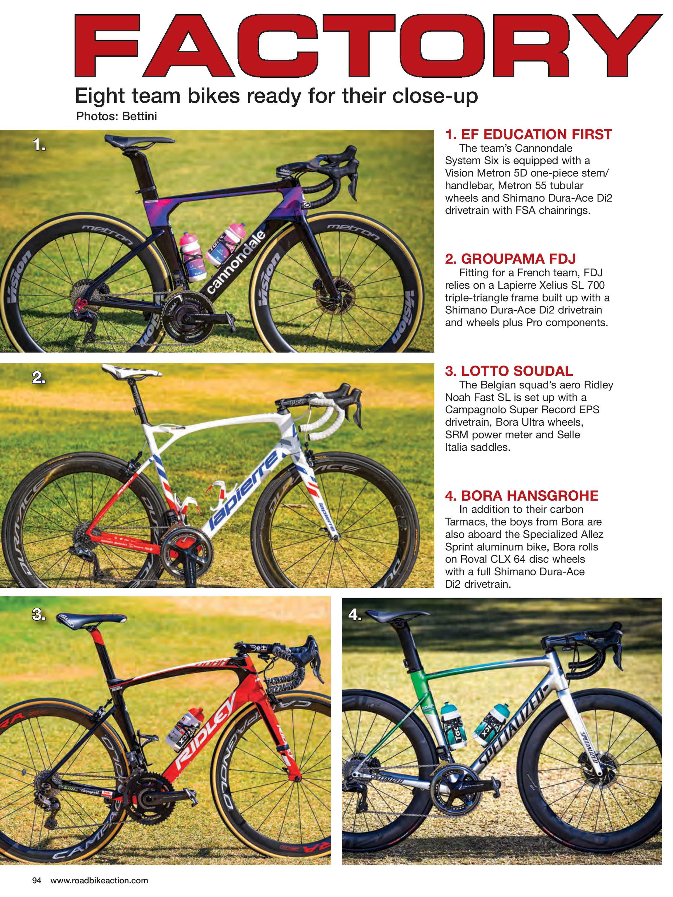 Road Bike Action Magazine - May 2019 - page 94