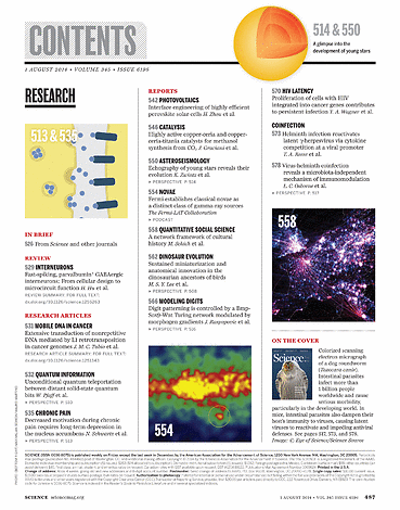 Science Magazine - 01 August 2014 - Page 487