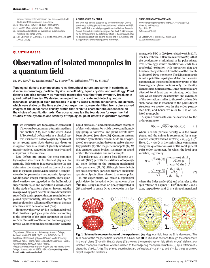 Science Magazine - 01 May 2015 - Page 544
