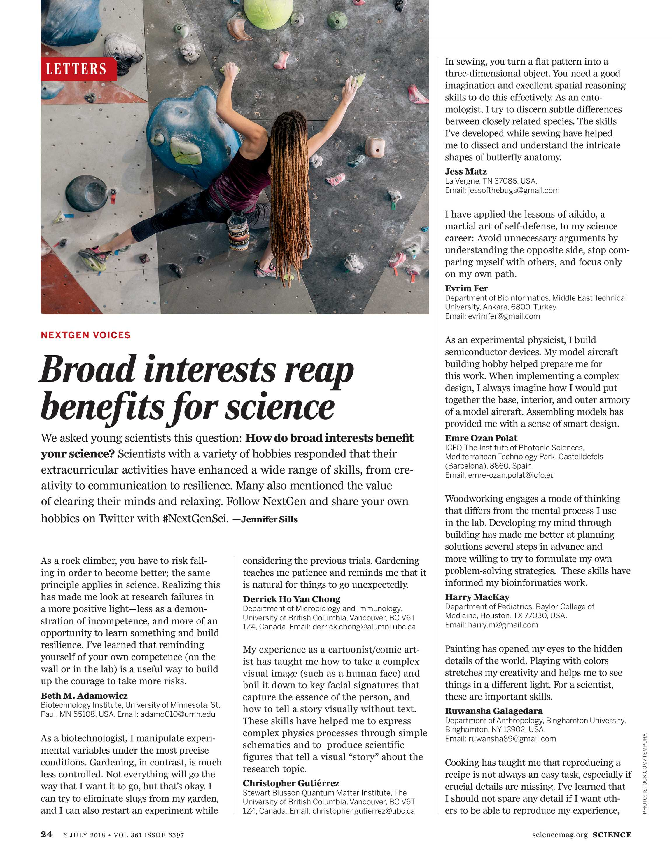 Science Magazine - July 6, 2018 - page 24