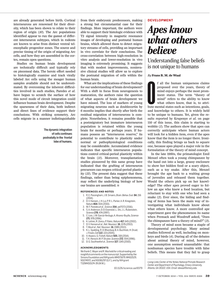 Science Magazine - 7 October 2016 - Page 38