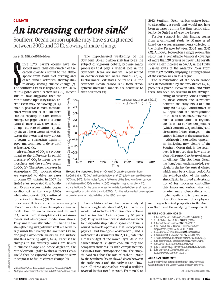 Science Magazine - 11 September 2015 - Page 1165