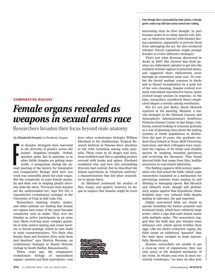 Science Magazine - 15 January 2016 - Page 214