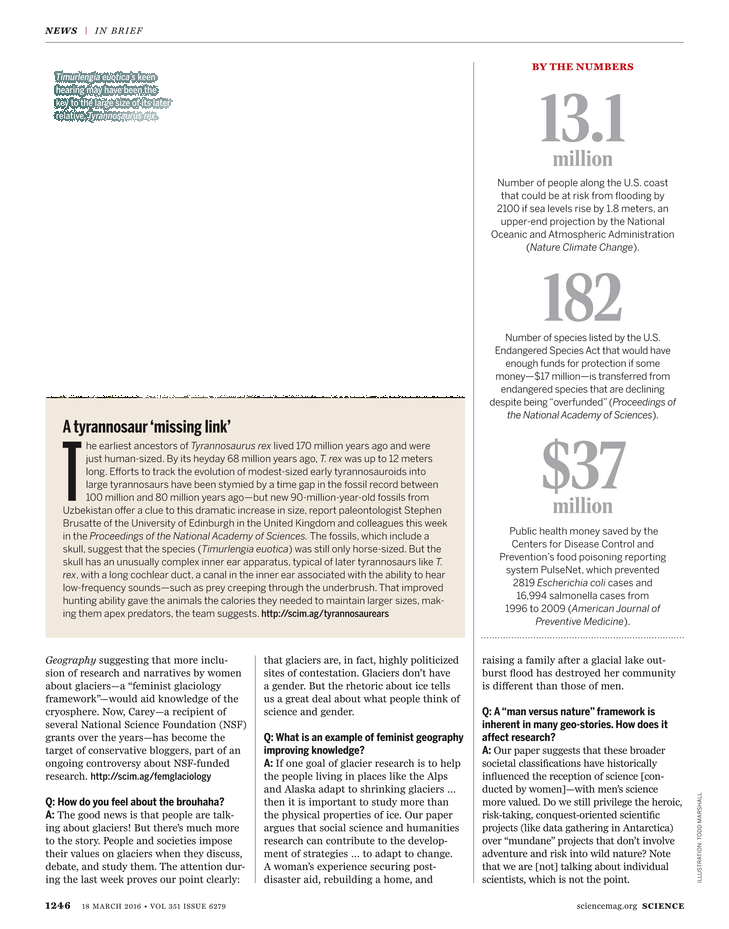 Science Magazine - 18 March 2016 - Page 1246