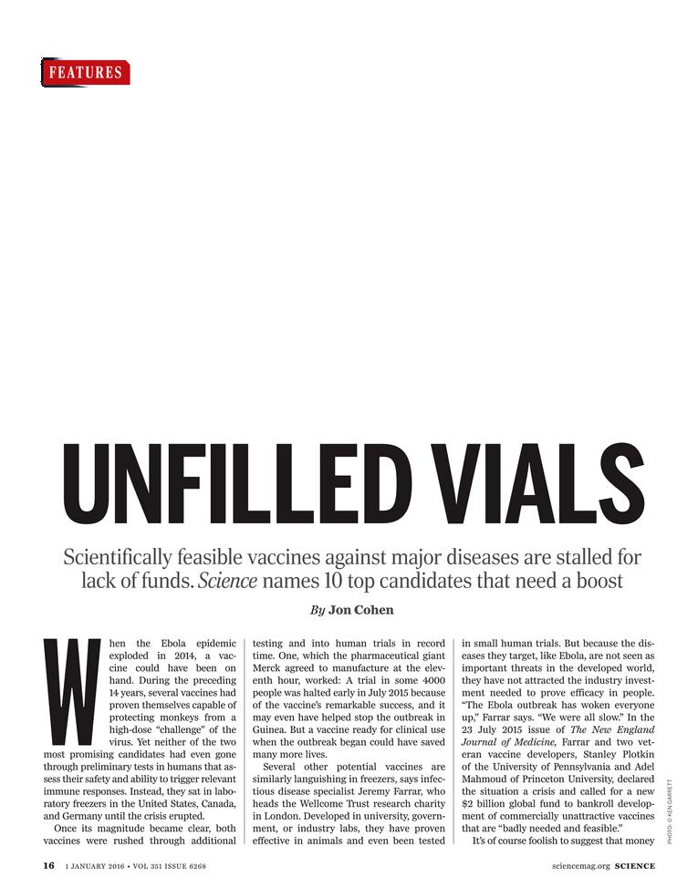 Science Magazine - 1 January 2016 - Page 15