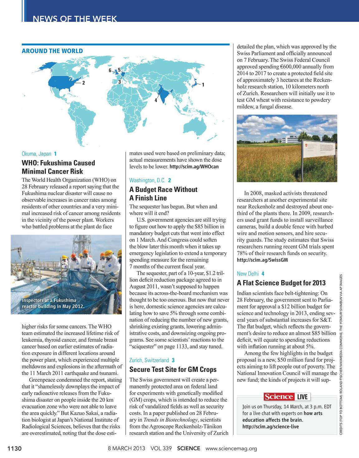 Science Magazine - 8 March 2013 - page 1129