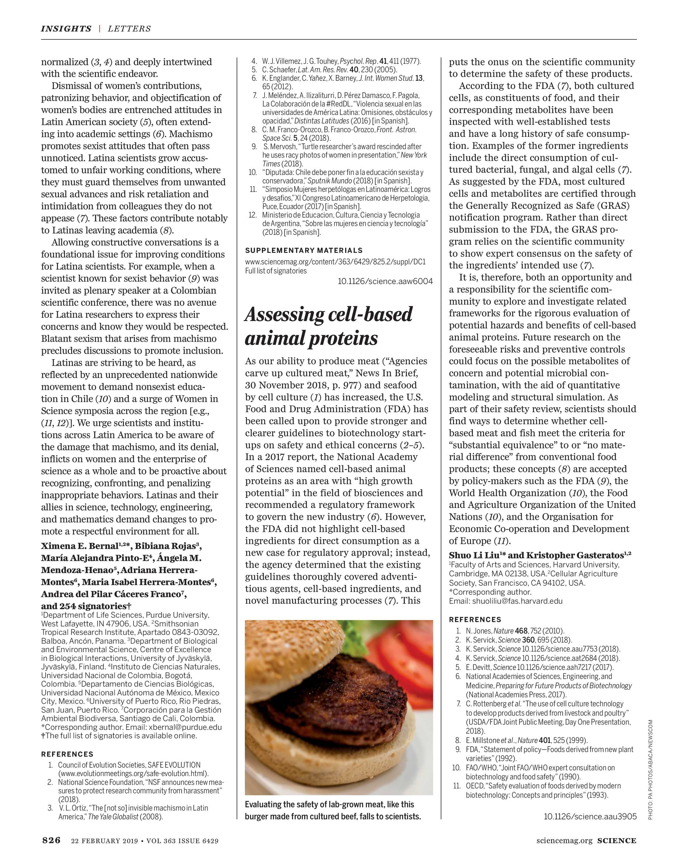 Science Magazine - February 22, 2019 - page 825