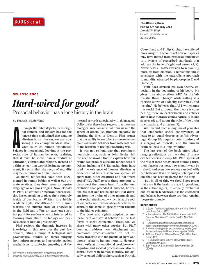Science Magazine - 23 January 2015 - Page 379