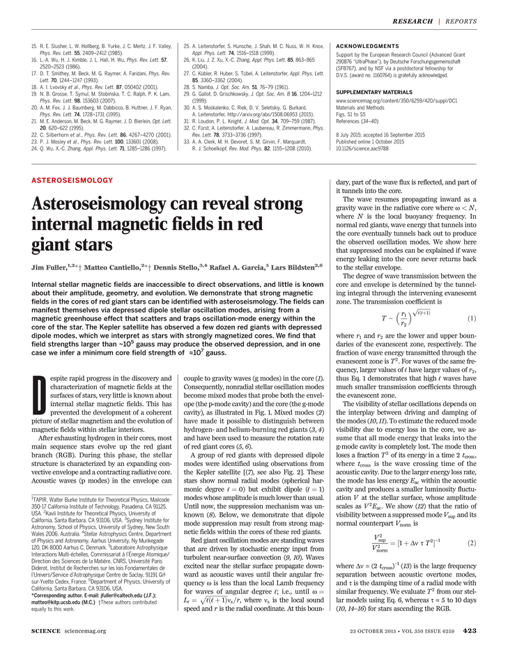 Science Magazine - 23 October 2015 - Page 423