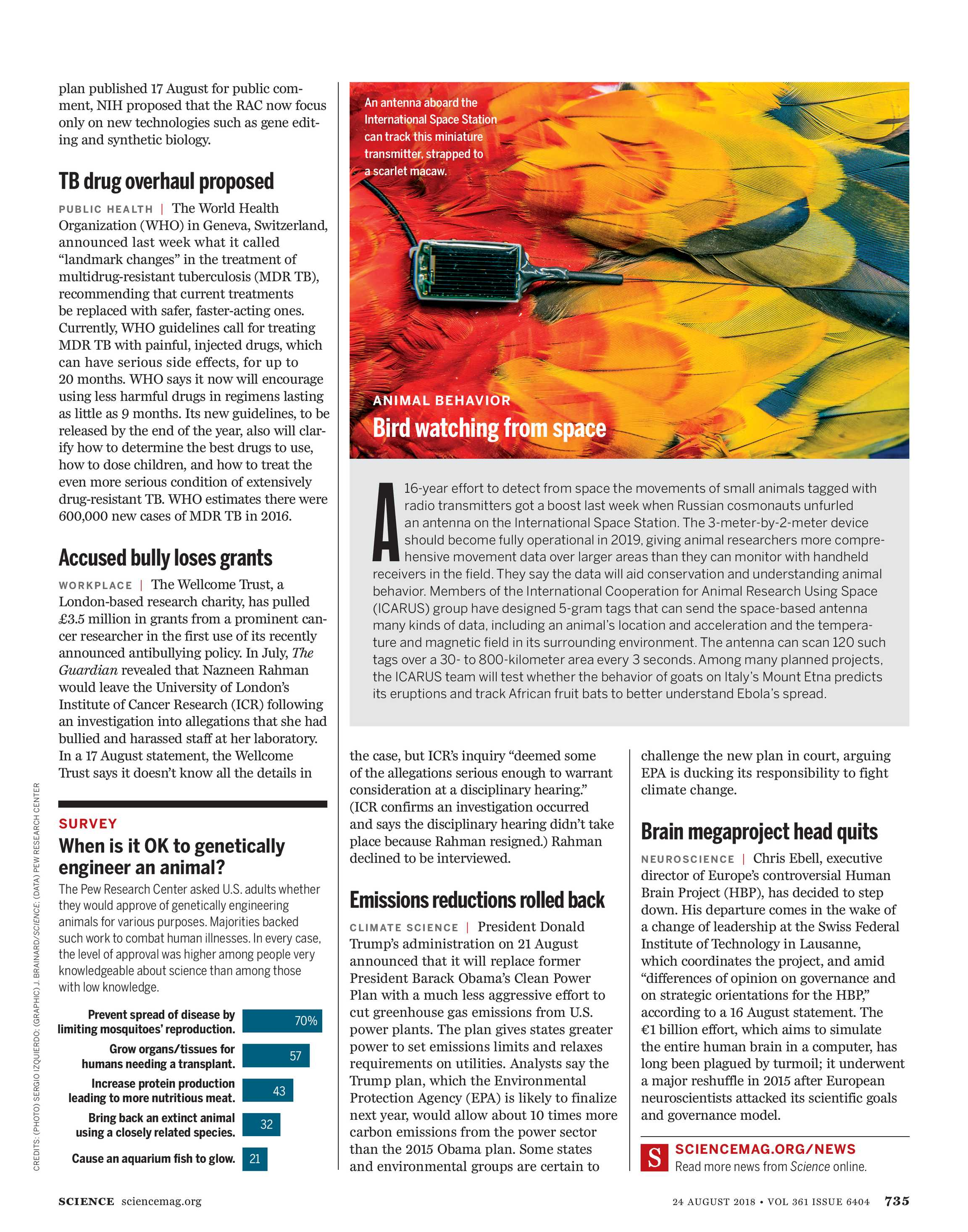 Science Magazine - August 24, 2018 - page 736