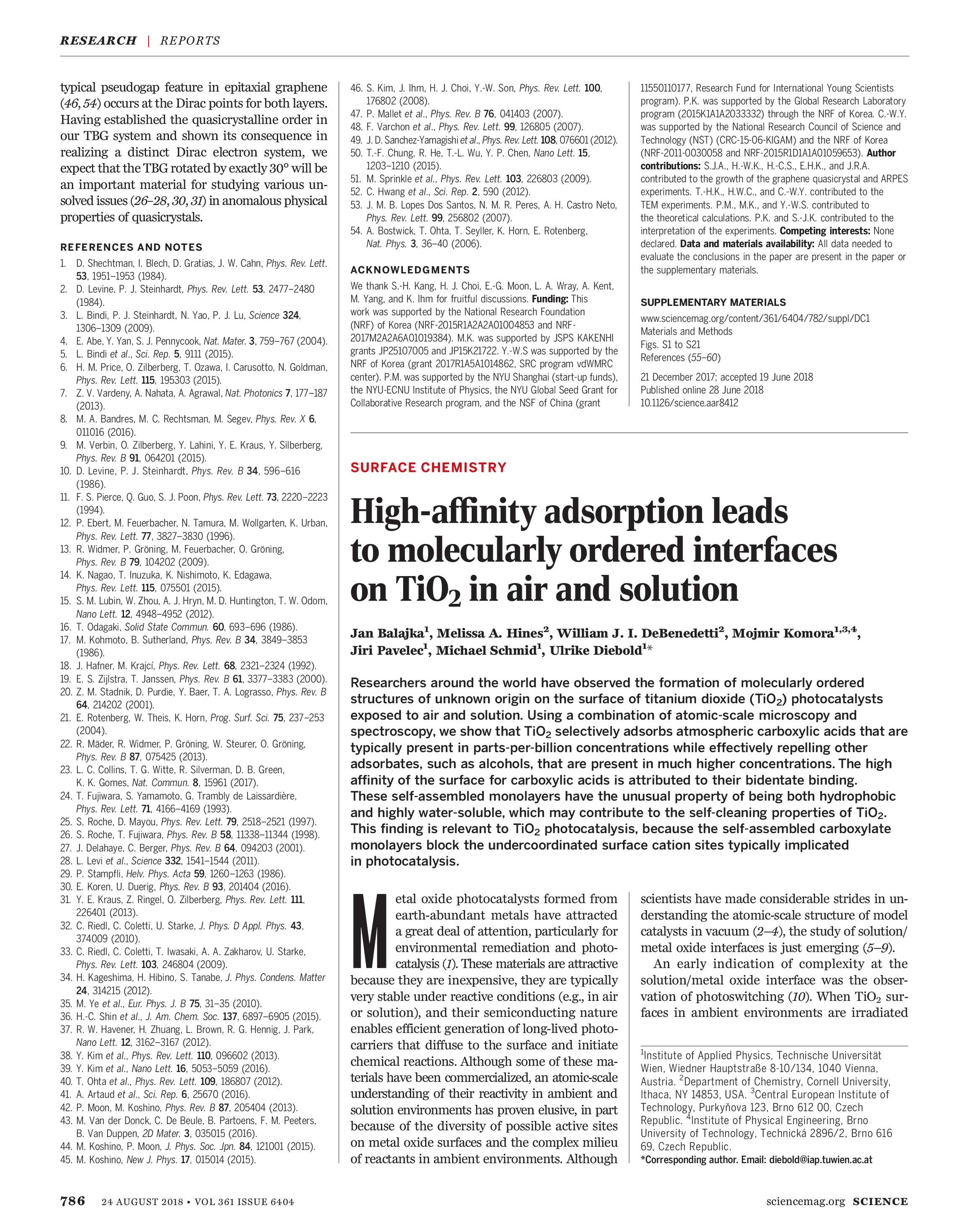 Science Magazine - August 24, 2018 - page 786