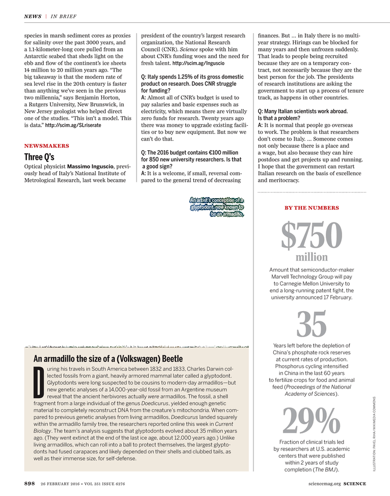 Science Magazine - 26 February 2016 - Page 898