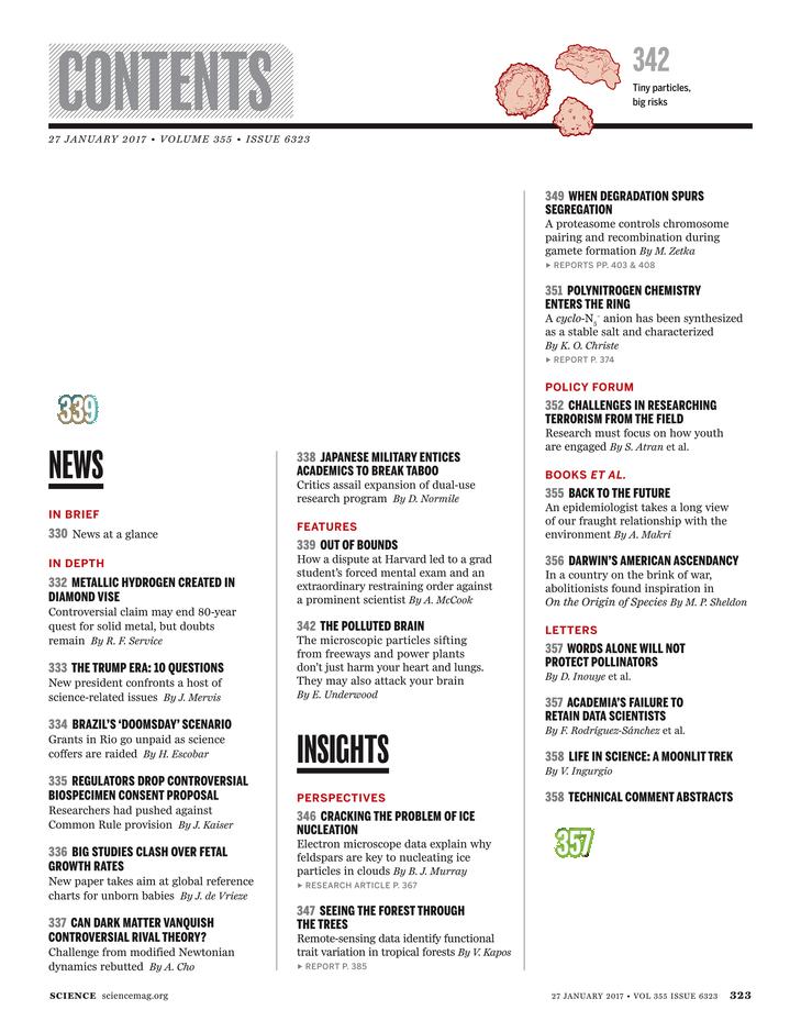 Science Magazine - January 27, 2017 - Page 323
