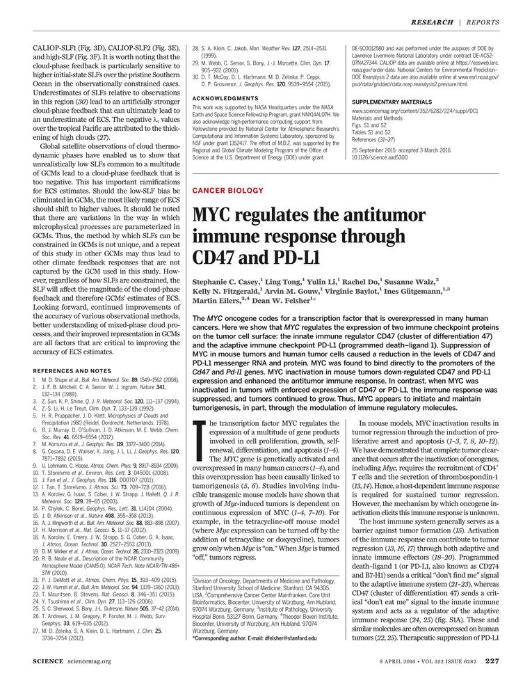 Science Magazine - 8 April 2016 - Page 227