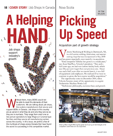 Shop Metalworking Technology - August 2015 - Page 18-19