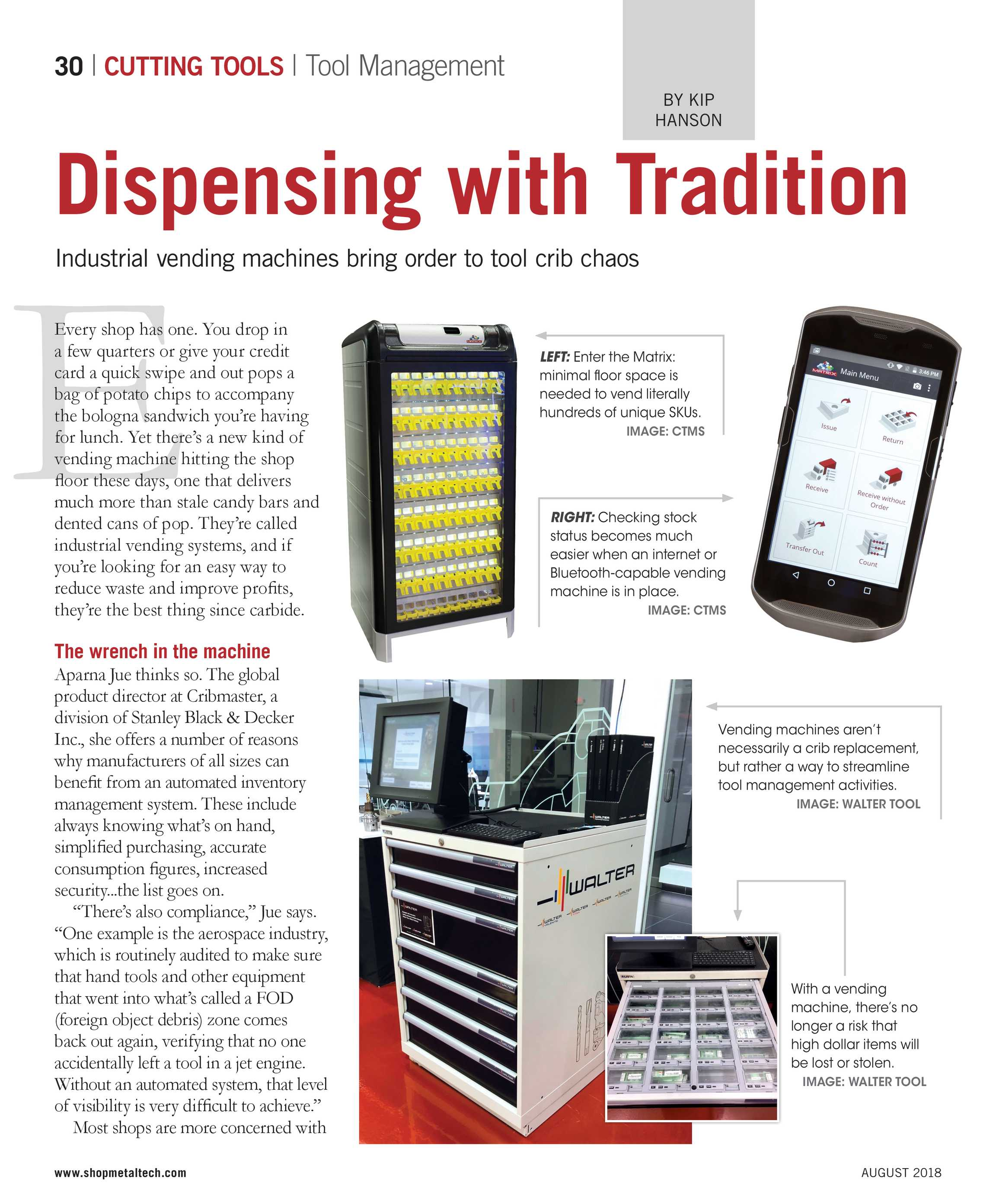 Shop Metalworking Technology - August 2018 - page 30