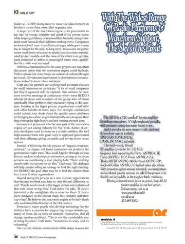 Signal - October 2012 - Page 36-37